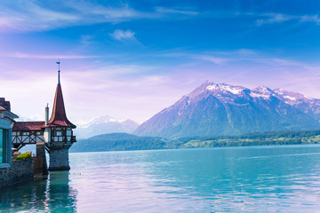 Mountains and Oberhofen