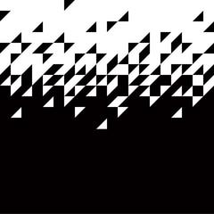 black and white background - vector illustration
