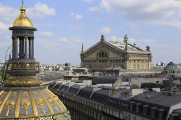 Blick auf die Opéra National de Paris Garnier