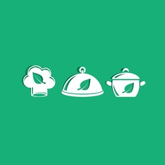 Organic cooking icons