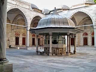 Moschea cortile