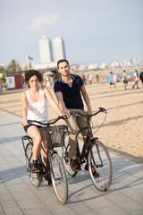 Fahrrad urlaub in Barcelona