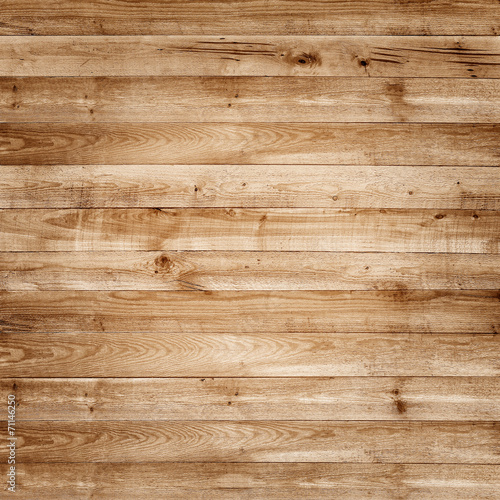 Leinwanddruck Bild Wood pine plank brown texture for background