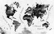 Ink world map - 71146474