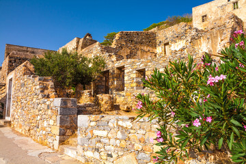 Spinalonga ruins
