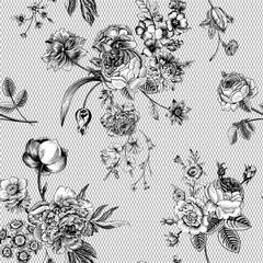 Seamless vector vintage pattern.
