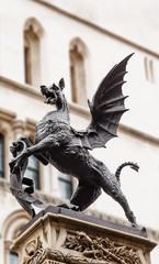 Temple Bar dragon statue