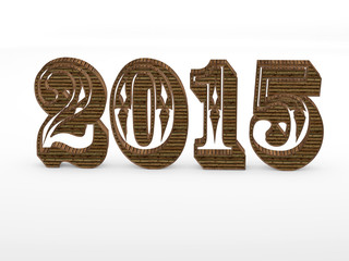 2015 year 3D numbers