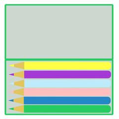 色鉛筆と筆箱