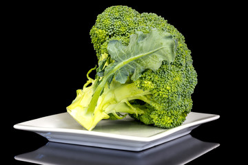 Fresh cut Broccoli reay to coolk and eat