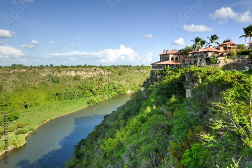 Fotobehang Centraal-Amerika Landen Chavon River, Dominican Republic