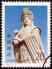 Statue of Mazu, Sea Goddess (China 1992)