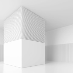 White Interior Background