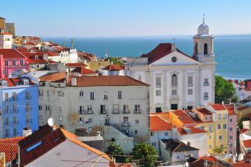 Saint Muguel church and Alfama, Lisbon