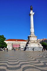 Restaoradores square, Lisbon
