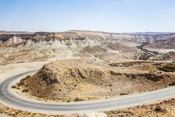 landscape Negev desert
