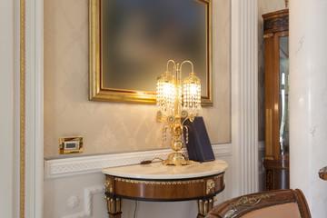 Hotel corridor - classic stiled details