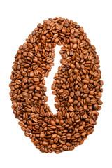 Kaffeebohne aus Kaffeebohnen