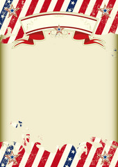 American kraft poster