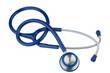 Stethoskop vor weißem Hintergrund