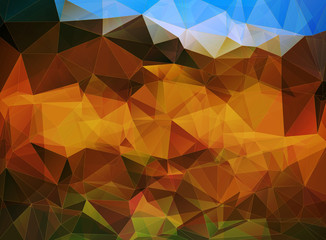 abstract polygon vector