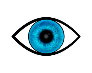 blue eye symbol