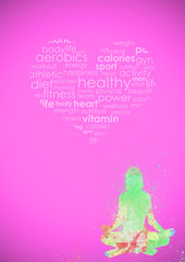 Fitness Abstract Background