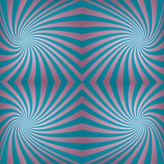 Cyan pink seamless swirl background