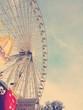 canvas print picture - Riesenrad