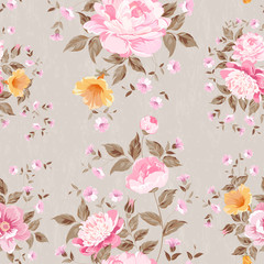 Luxurious peony wallapaper.