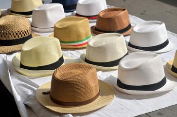 men's hats made of natural materials