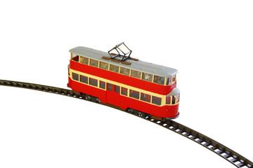 Tower Tram_London Art_Modell