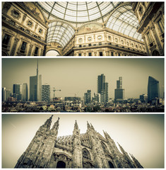 Milan city center - Italy
