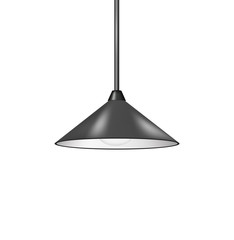 Retro hanging lamp in black design
