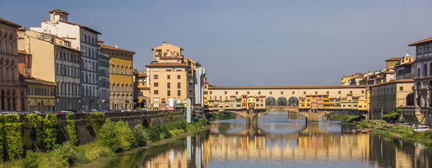 River Arno and ponte Vecchio in Florence