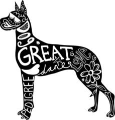 Pet Great Dane Dog