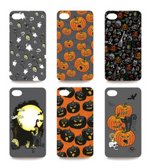 Mobile phone cover  back set .Halloween
