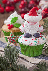 Christmas cup cakes
