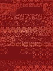 Oriental vector wallpaper