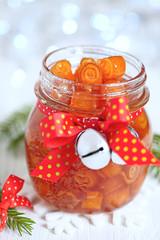 candied orange peels confiture