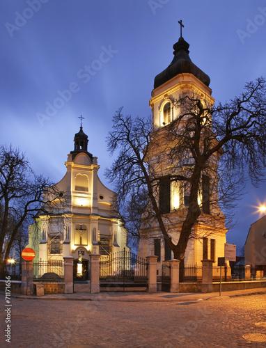 St. Bartholomew's Church in Plock. Poland - 71171656
