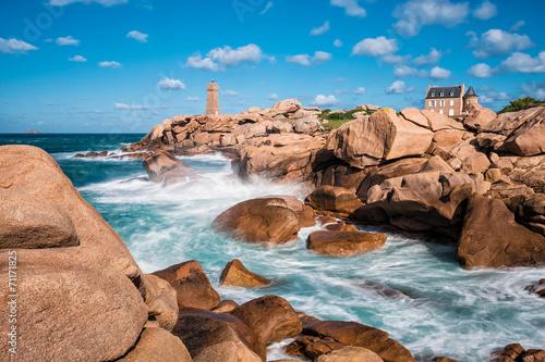 Papiers peints Cote Atlantikküste in der Bretagne