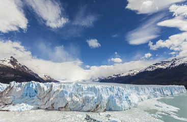 Perito Moreno Glacier in the Los Glaciares National Park, Argent