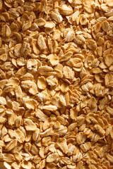 Dry oats cereal