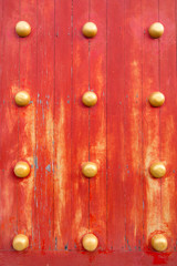 Red Chinese Door texture