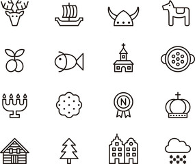 Sweden icons