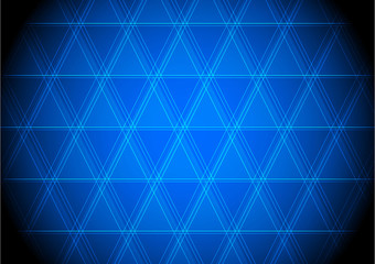 Electronic blue panels background