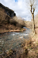 The River Dove, Dovedale, Peak District National Park
