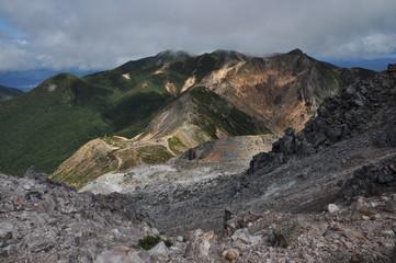 朝日岳 茶臼岳