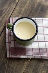 Home made fresh soy milk